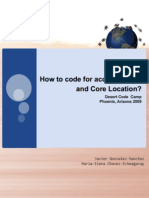How to code for accelerometer and Core Location? | DCC 2009