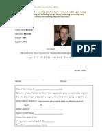 Common Law Identification ID