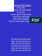 The Eyes of My Heart 2.ppt