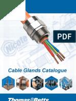 Nicote Cable Glands Catalogue