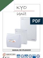 Manual Intruções Kyo