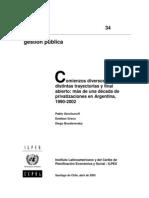 X - Gerchunoff-Greco Privatizaciones