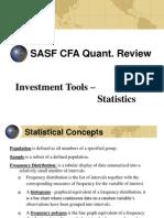 Cfa Quant Review - Statistics(1)