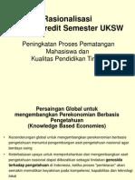 Sistem Tiga Semester Uksw