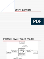 Building Entry Barriers