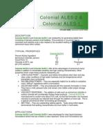 Colonial ALES-2 & ALES-1