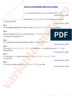 coordonate-vectori