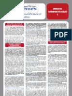 Guia Acadêmico - (Direito Administrativo I)