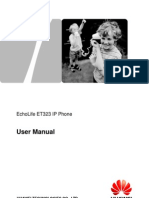 EchoLife ET523 IP Phone User Manual (2)