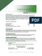 Colonial AOS-40