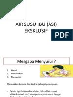 Air Susu Ibu (Asi) Edited
