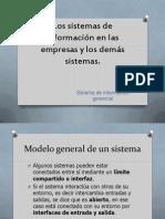 Los sistemas de información en las empresas y