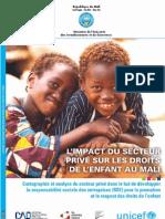 L'IMPACT DU SECTEUR PRIVÉ SUR LES DROITS DE L'ENFANT AU MALI