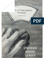 Sprayberry Academy of Radio - ND-10 - Review of Fundamental Principles