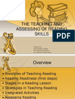 The Teaching and Assessing of Reading Skills