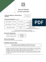Tabela de Propinas.20092010