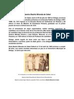 Biografias de Don Tomas Cabal y Doña Beatriz Miranda de Cabal
