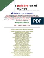 Programa General VII Fip