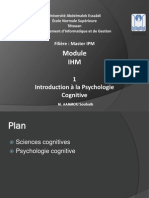 1 Psychologie Cognitive