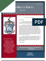 Phi Delta Theta Newsletter