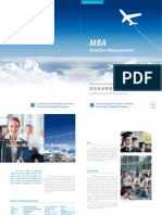 Brochure MBA Aviation Management