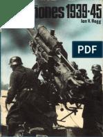 San Martin Libro Armas 21 Los Cañones 1939 - 1945