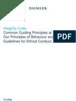 Daimler Integrity Code