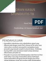 Spondilitis Tb ~Wahida