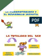La Psicomotricidad y El Desarrollo Infantil