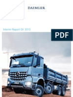 Daimler Q1 2013 Interim Report