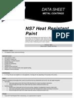 Heat Resistant Paint Datasheet