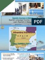 Spanish Courses in Malaga -Spanish language courses in Málaga