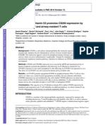 1α,25-Dihydroxyvitamin D3 promotes CD200 expression by