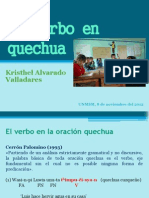 El Verbo en Quechua