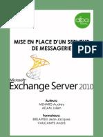 Mise en Place d Un Service de Messagerie Avec Exchange Server