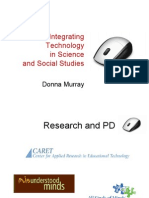 integrating technology in science and social studies