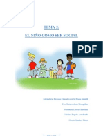 Tema 2 El niño como ser social