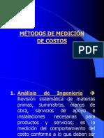 Metodo de Medicion de Costos