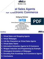 Virtual Sales Agents for Electronic Commerce Prague 02-07-01
