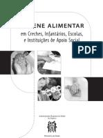 Higiene Alimentar em Creches, Infantários, Escolas e Instituições de Apoio Social