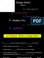 Design Styles Part 2.Ppt