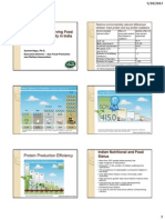 Role of Soy in Achieving Food and Nutrition Security in India - Handout