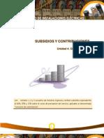 Subsidios y Contribuciones