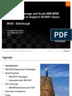 Scaling and Managing IBM BPM With RAF - WUG v2-1