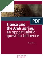 WP110 France and Arab Spring