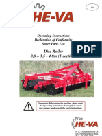 He-Va Disc-roller 30-35-40 Spare-parts