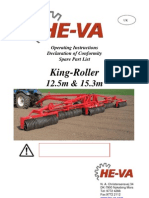 He Va King Roller 125 153 Spare Parts