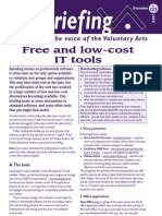 Free and low Cost IT Tools