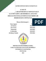 Laporan Praktikum Pengetahuan Lingkungan