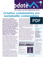 The arts help us create sustainable communities
